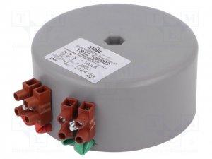 Zdroj 24VAC zalitý- tepelná pojistka se svorkovnicí